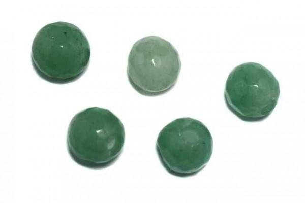 fac. Kugel mit 3mm Bohrung, 8mm, Aventurin grün