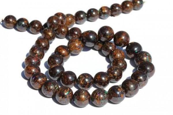 Kugelstrang 47 beads 8-10mm/41cm, Boulderopal AA
