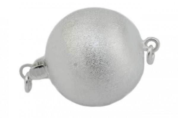 18mm Kugelschließe, AG 925 matt