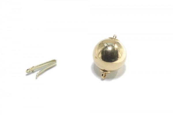 12mm Kugelschließe aus poliertem AGV 925