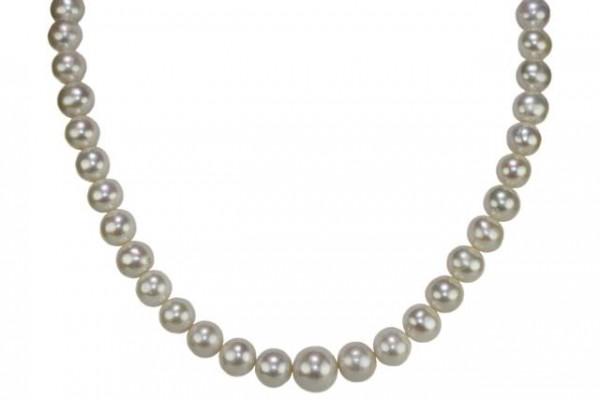 Perlenstrang 12-16mm/40cm, Süßwasser-Zuchtperle A weiß