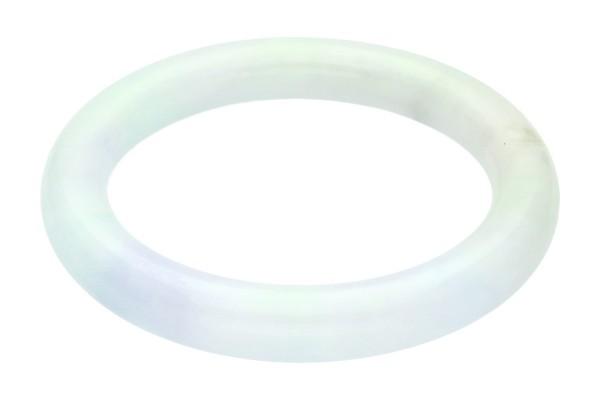 Armreif rund 13,5mm/Innendurchmesser 75mm, Jade grün und lavendel
