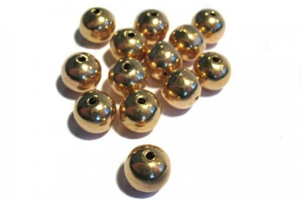 Kugel 10mm poliert, AGV 925 rötl.