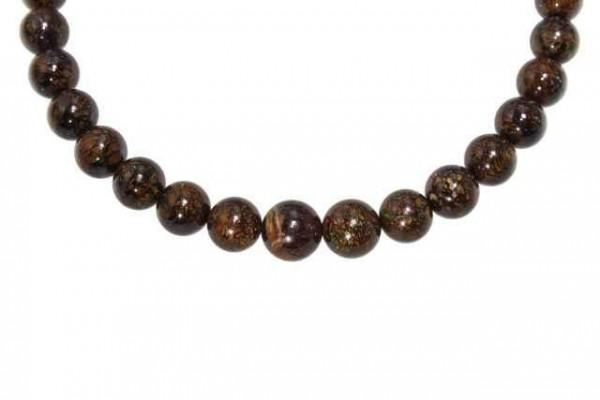 Kugelstrang 44 beads 9-11mm/41cm, Boulderopal AA